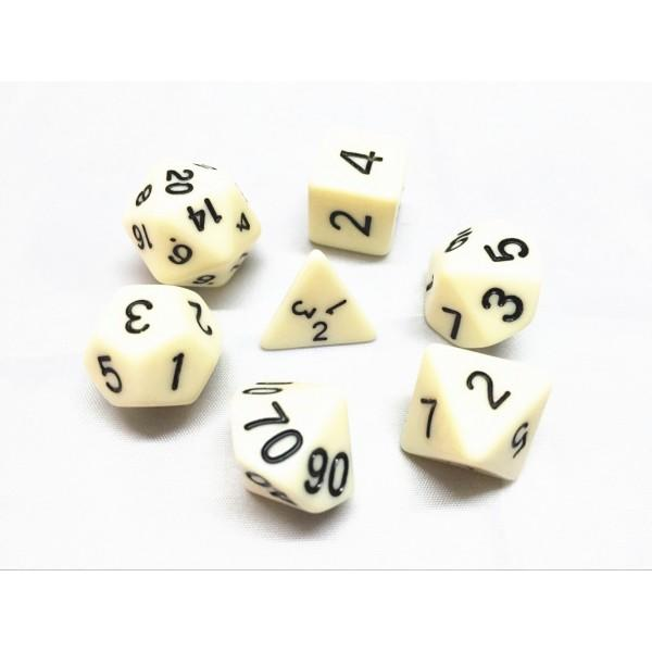 OPAQUE DICE SETS
