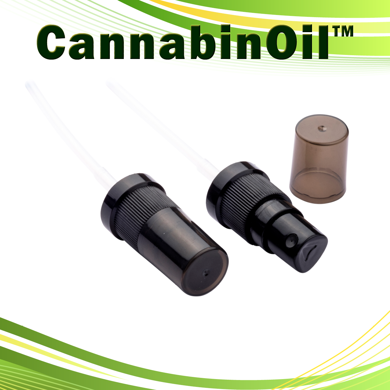 CannabinOil, Pump cap, 18mm