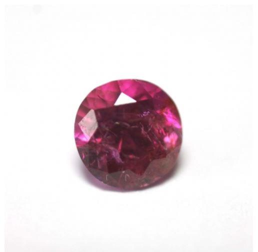 Ruby 0.61 cts Round Cut