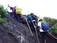 Trekking upwards
