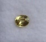 Yellow chrysoberyl