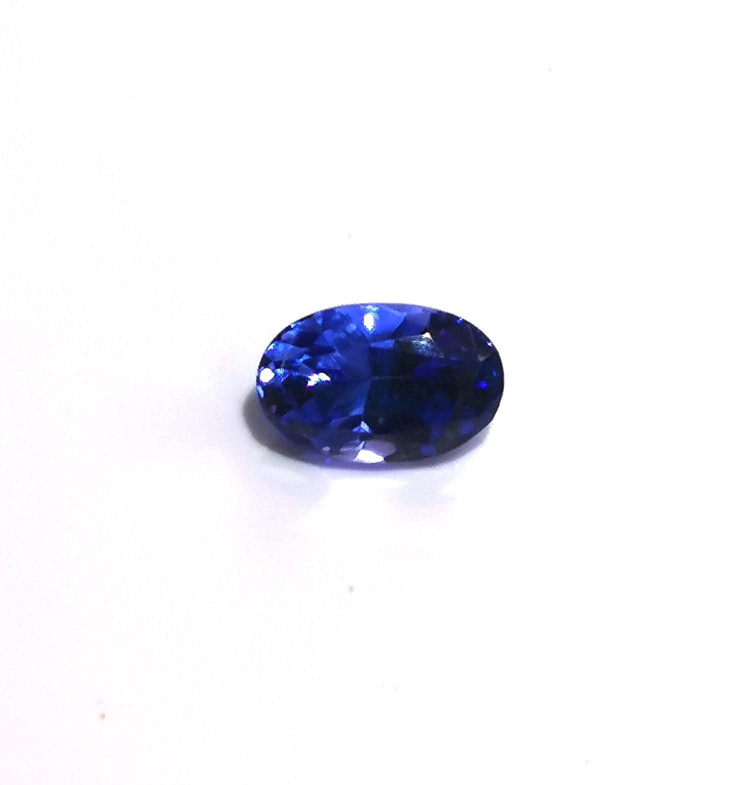 Tanzanite 0.75 cts Oval Cut