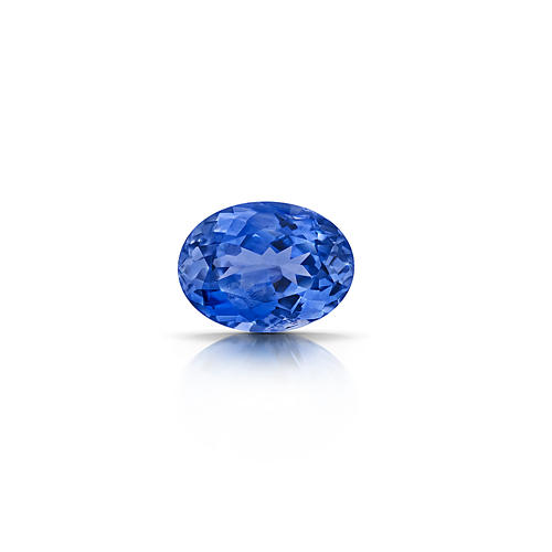 Blue Sapphire, 1.74 Carat, Oval Cut
