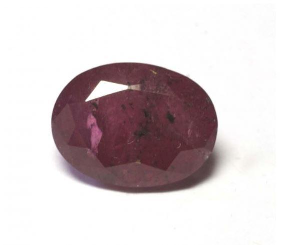 Ruby 5.15 cts Oval Cut