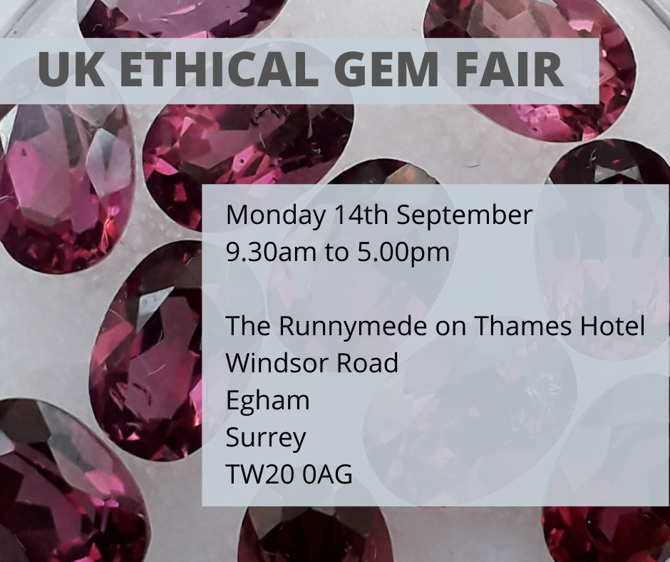 UK Ethical Gem Fair (September 2020)