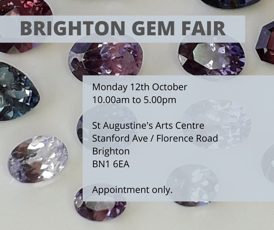 Brighton Ethical Gem Fair (October 2020)