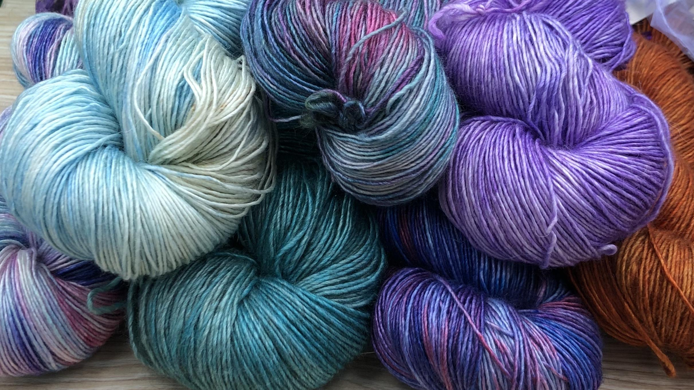 Single Ply Yarns