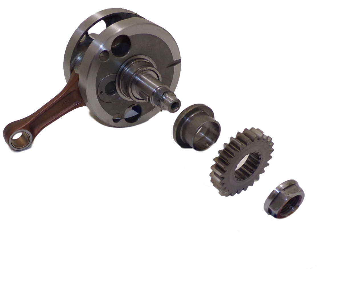 CRANK SHAFTS AND GEARS34