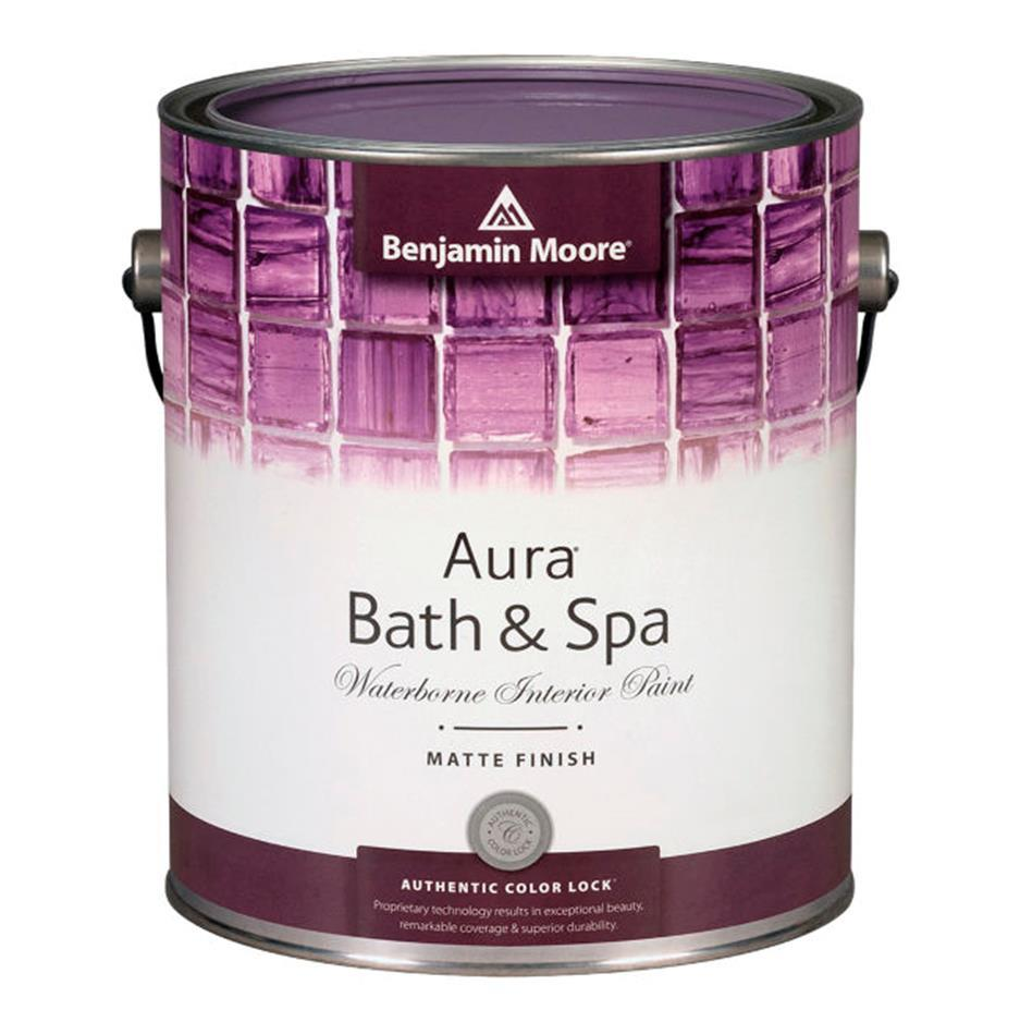 Benjamin Moore Bathroom Colors: Benjamin Moore Aura Bath & Spa