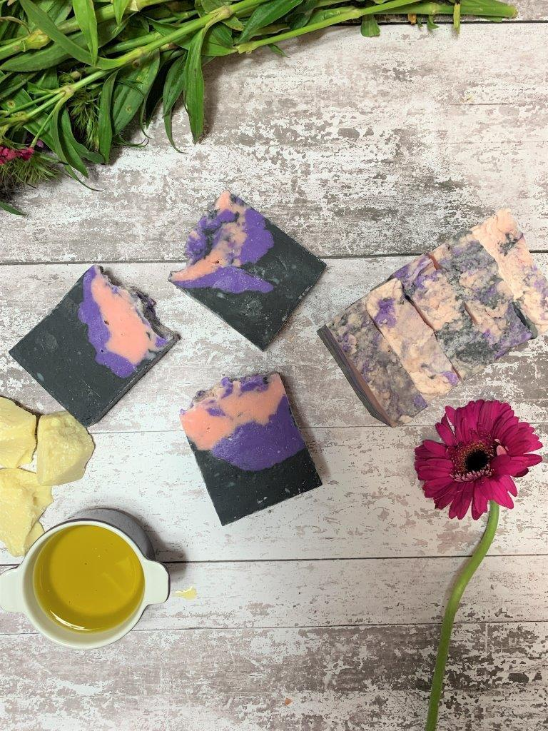 Ylang Ylang And Bergamot Handmade Soap in Plastic Free Packaging From Above