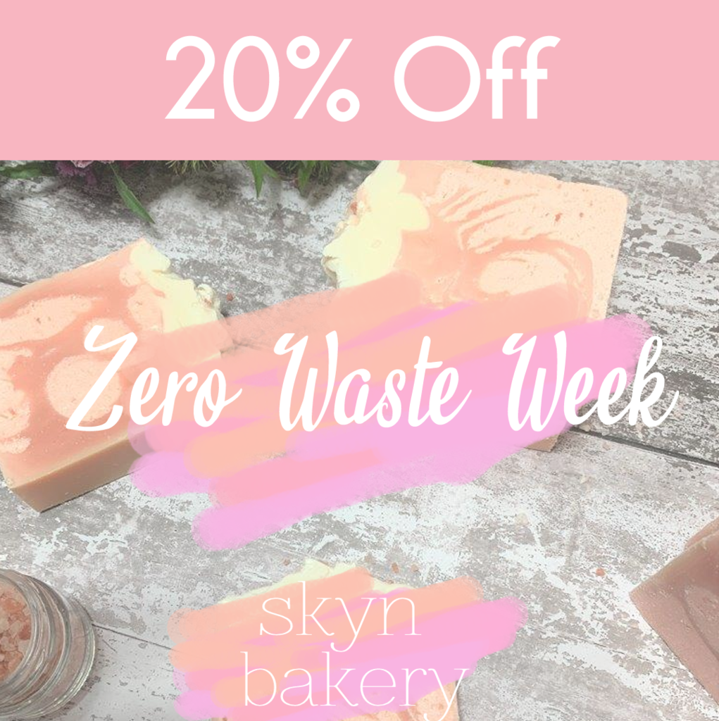 Zero Waste Week 20% Off Sale