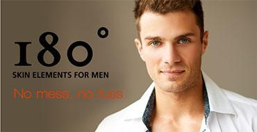 180º  Skin Elements for Men