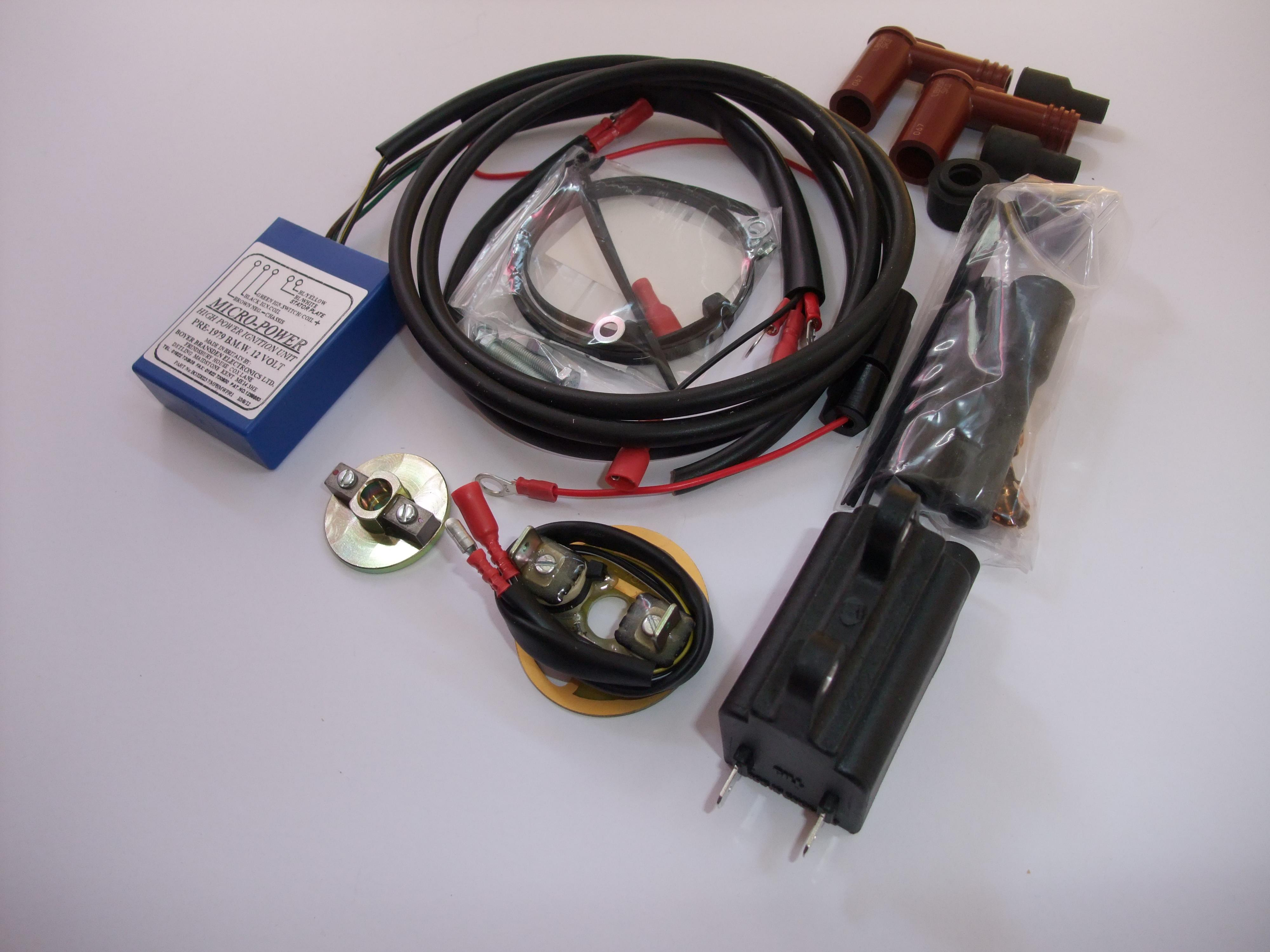 Boyer Brandsen BMW pre 1979 Micro Power electronic Ignition kit