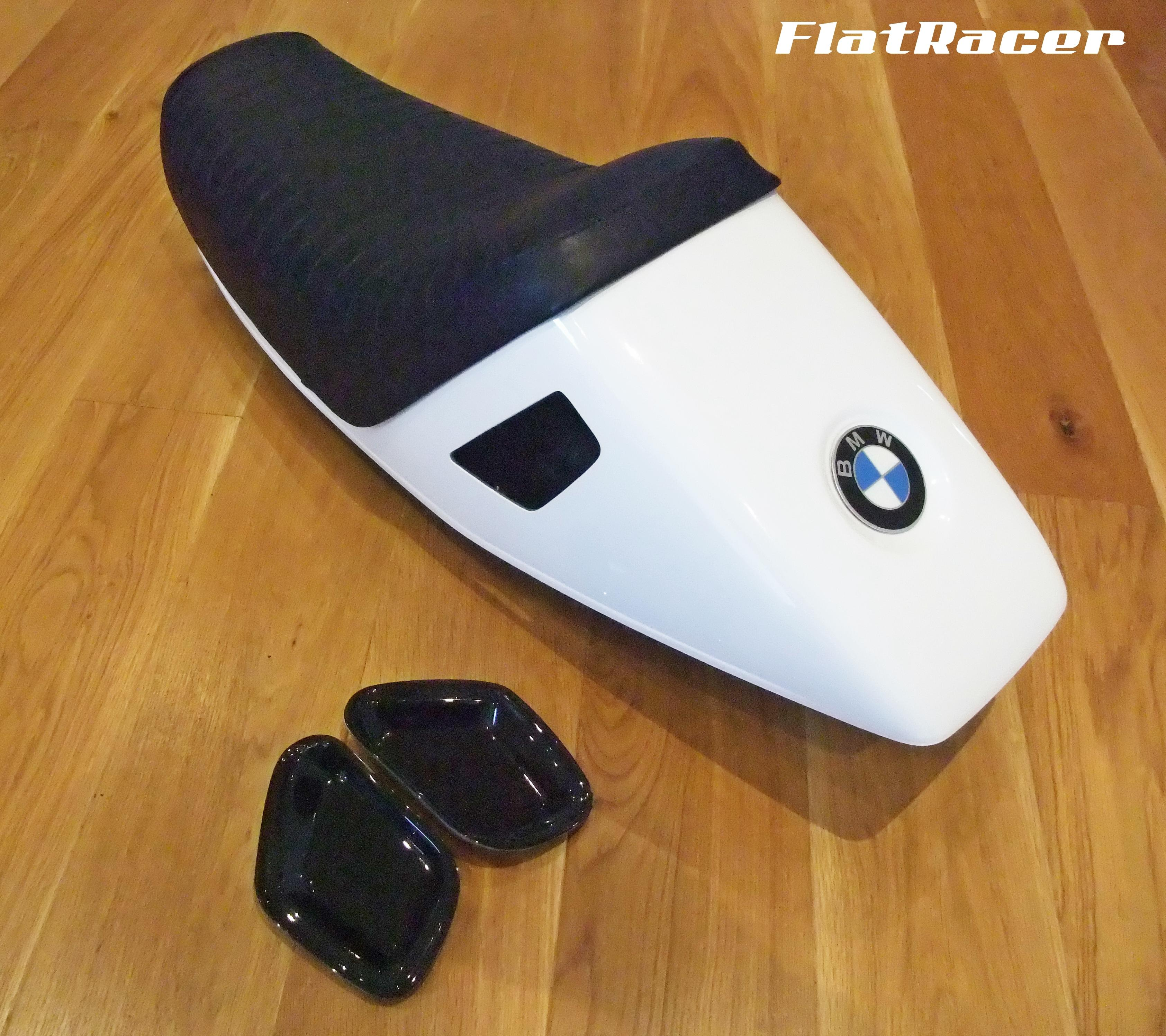 FlatRacer BMW R100 RS Solo 3/4 seat - Motorsport Blue