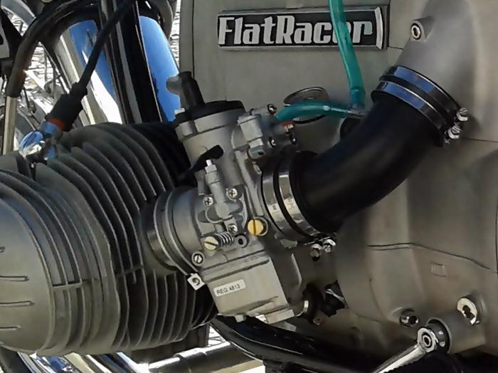 FlatRacer BMW R2v (pre 1981) Dell Orto PHM38 conversion kit