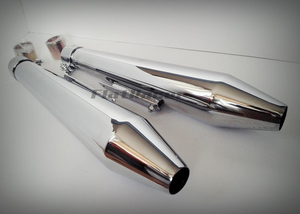 MegaCone Cafe Racer exhaust silencers