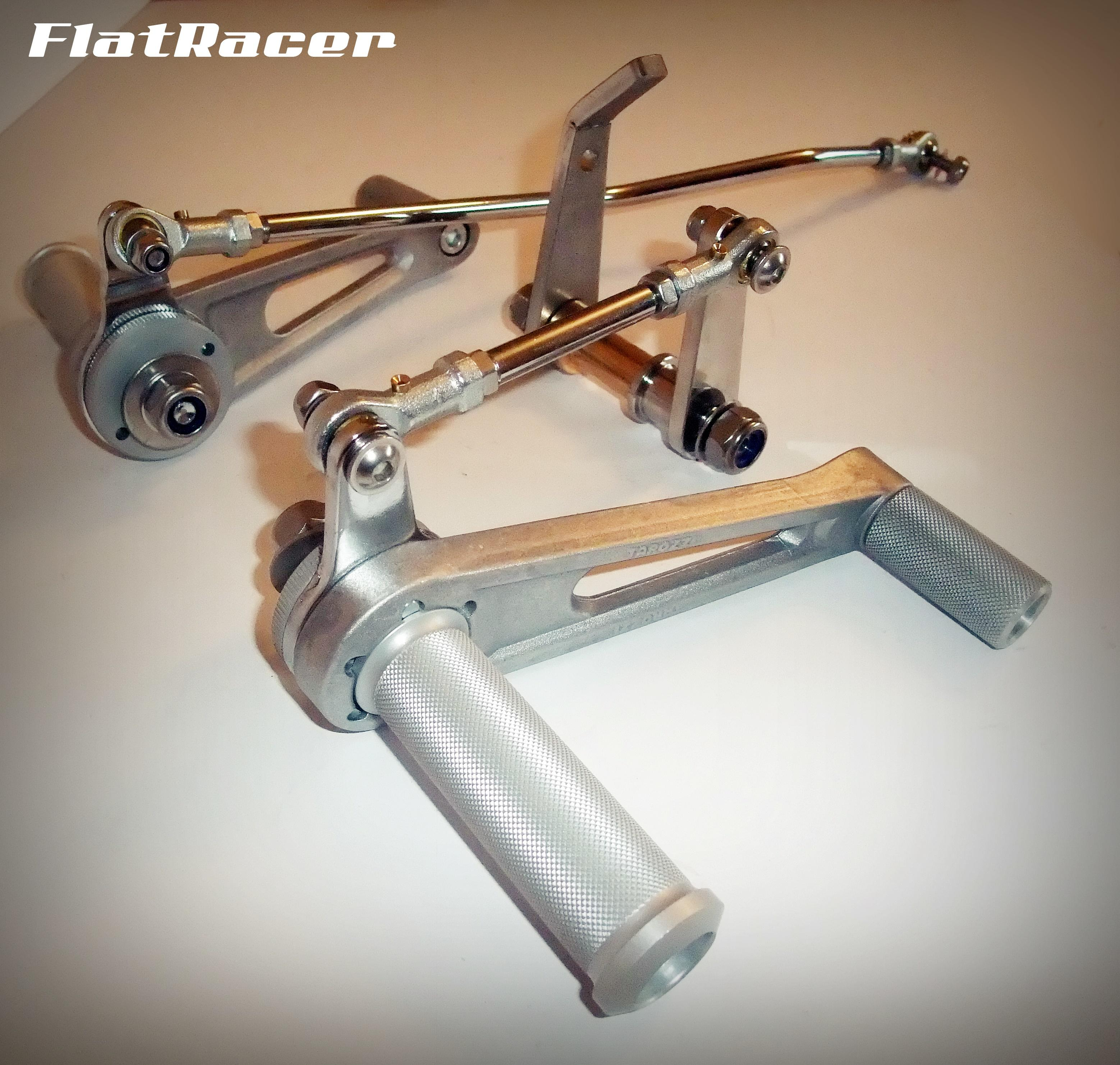 FlatRacer BMW R2v Airhead Boxer late /7 Series (1981-1984) rear sets