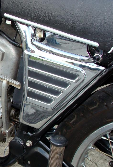 FlatRacer BMW /5 replica stainless steel battery covers / side panels (pair)