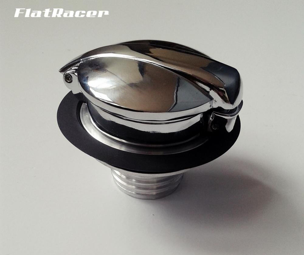 FlatRacer BMW R2v Airhead Boxer Cafe Racer /7, R45/65 & Monolever series (76 on) alloy Monza fuel tank cap