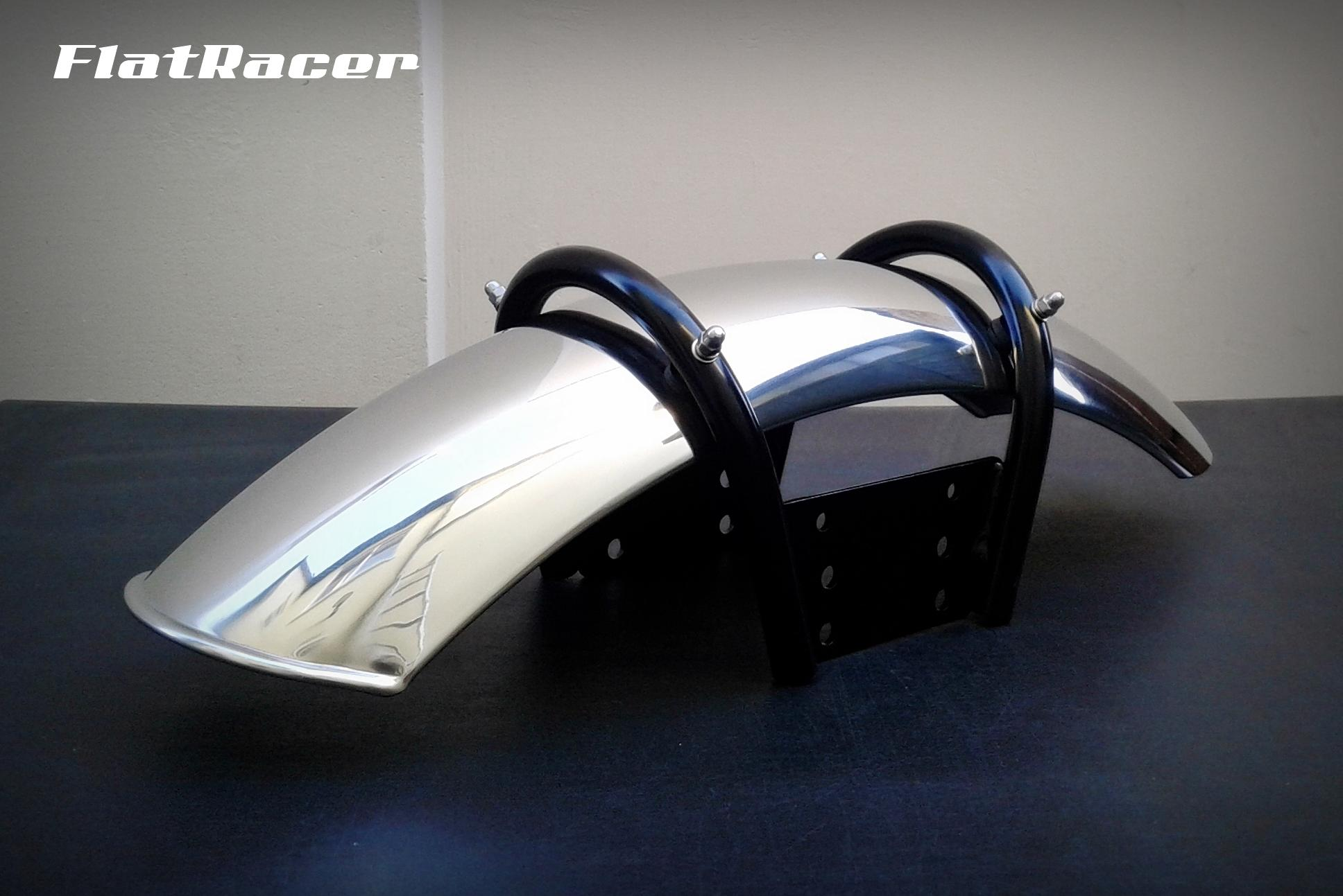 FlatRacer BMW R45 & R65 (78-84) stainless steel mudguard combo