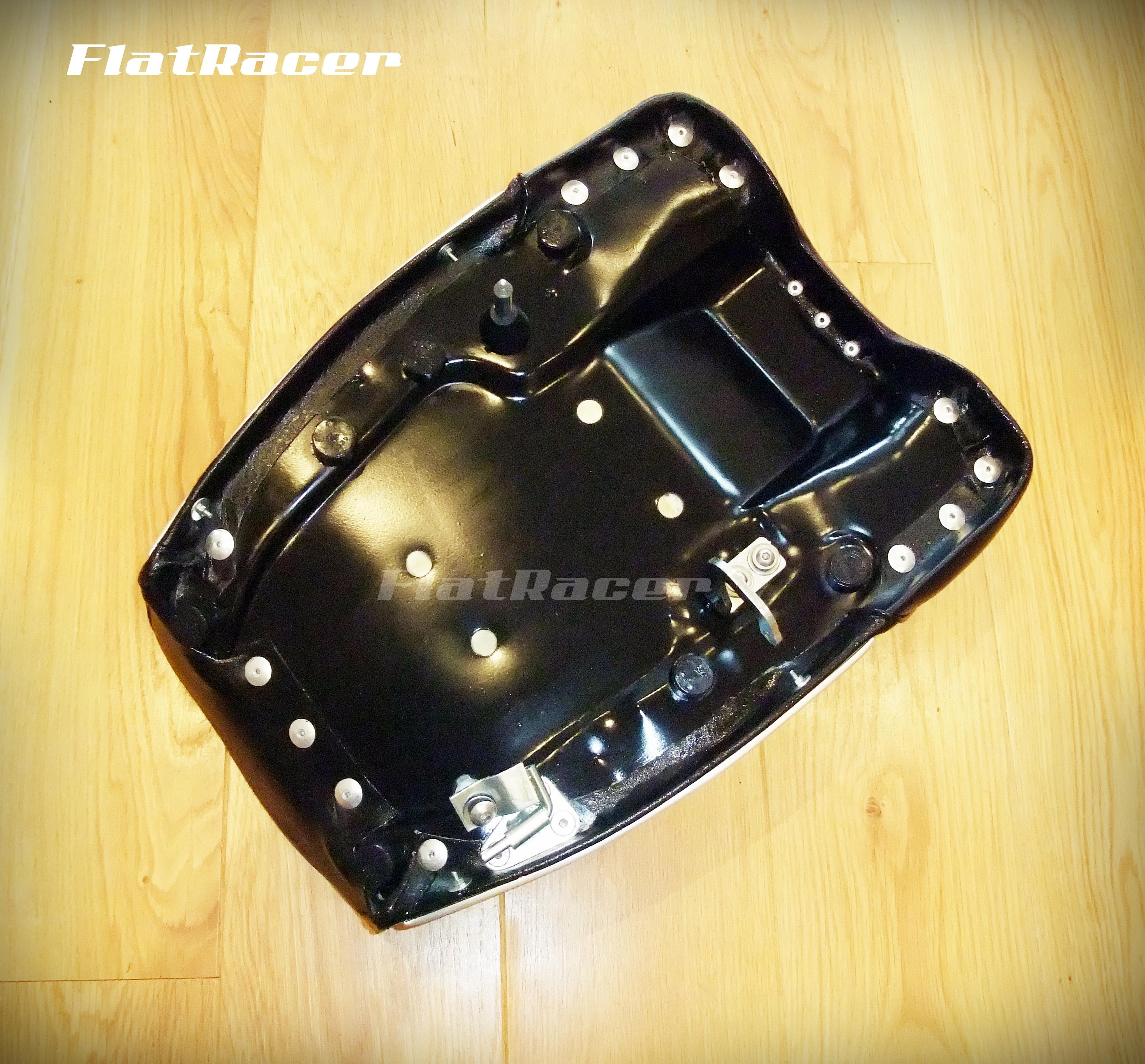 FlatRacer BMW /5, /6, /7 TIC single BZP steel front hinge