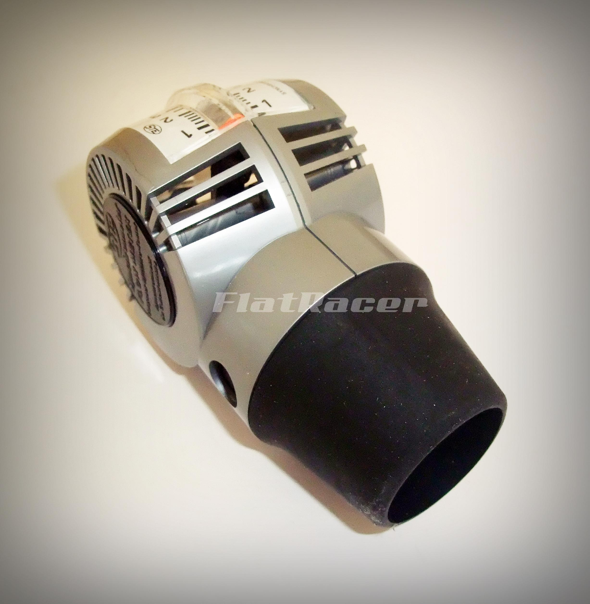 Motorcycle carburettor airflow meter