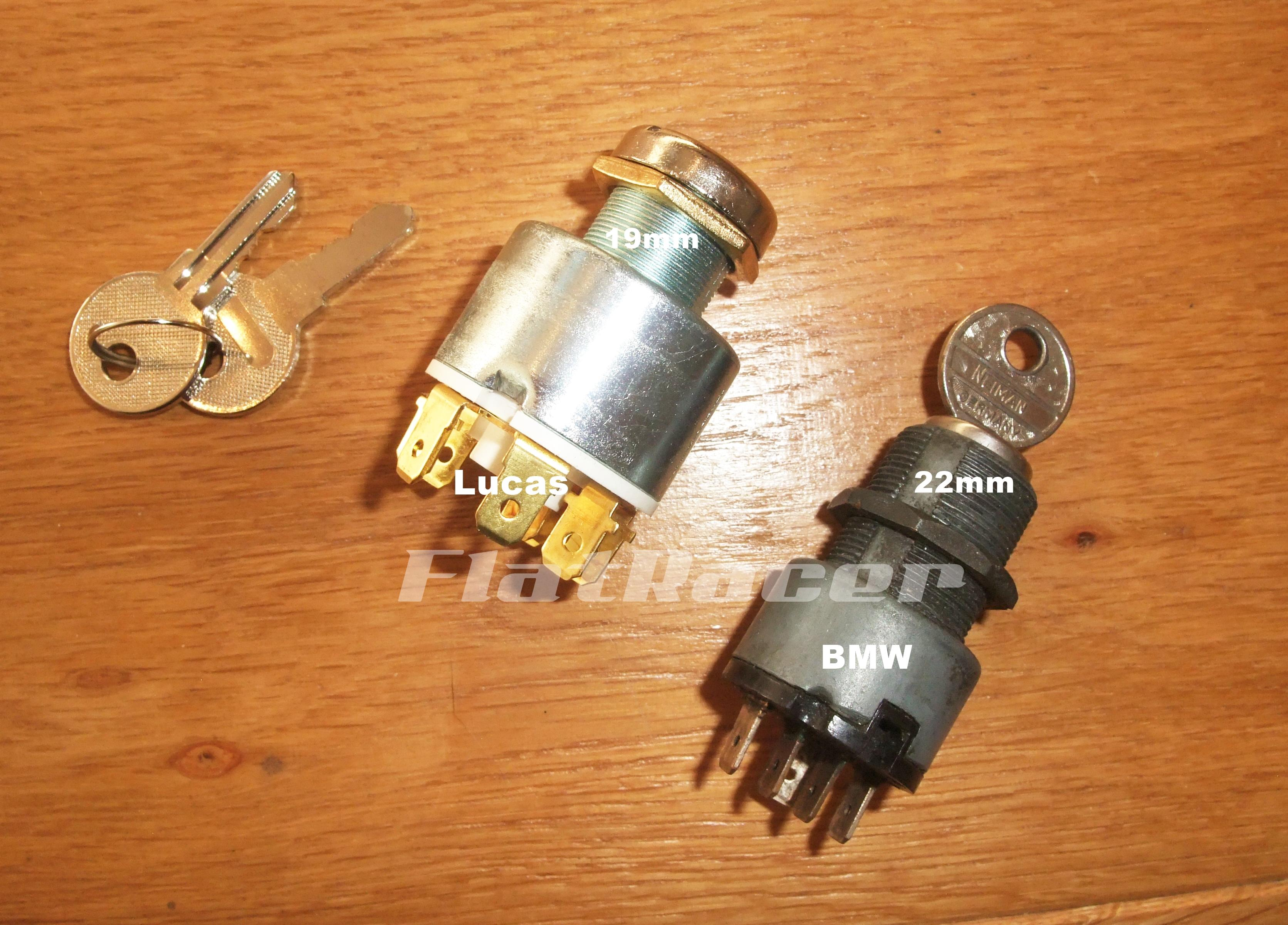 Universal fit ignition switch - 3 position