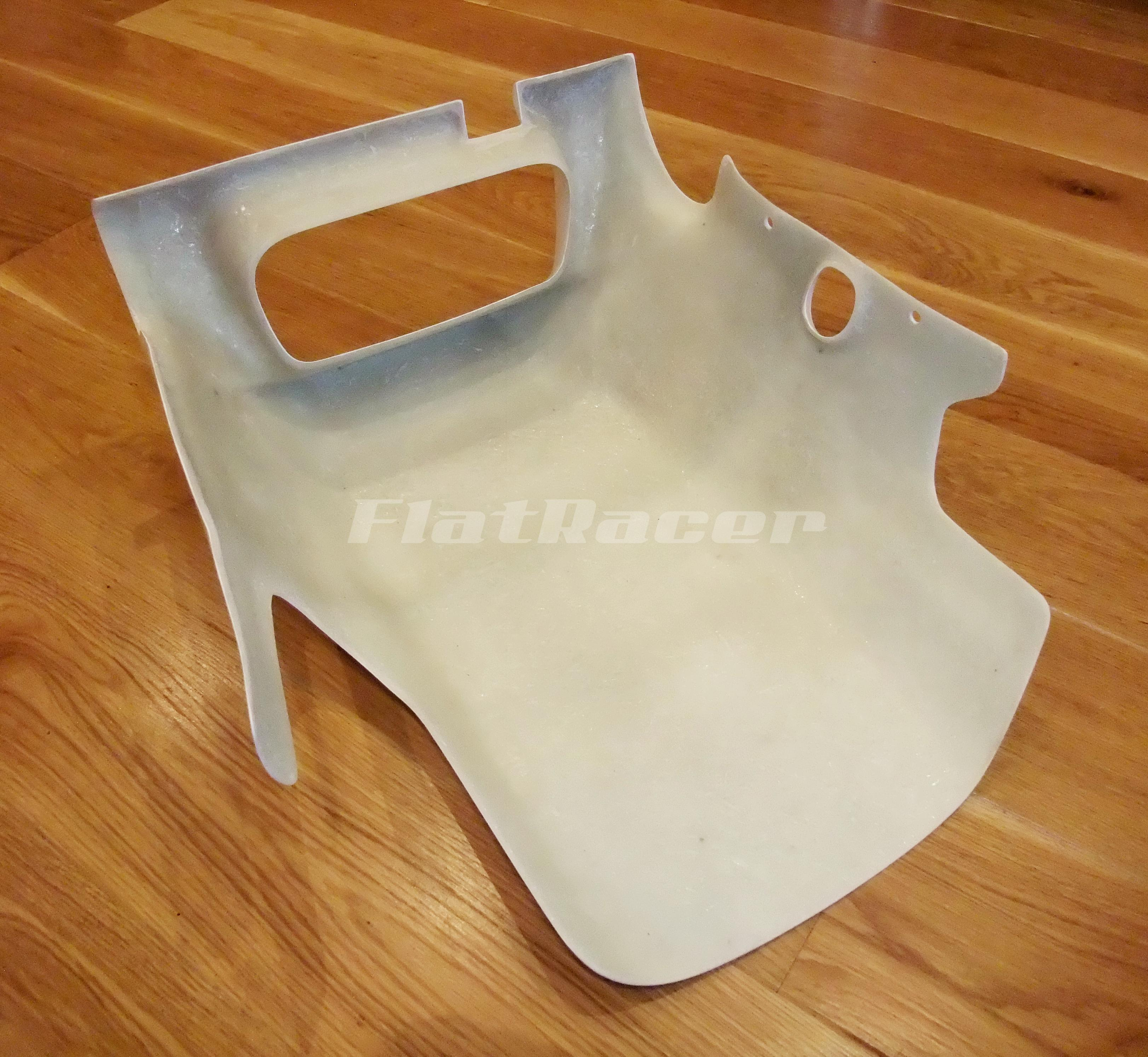 FlatRacer BMW K100 RS fibreglass replica belly pan