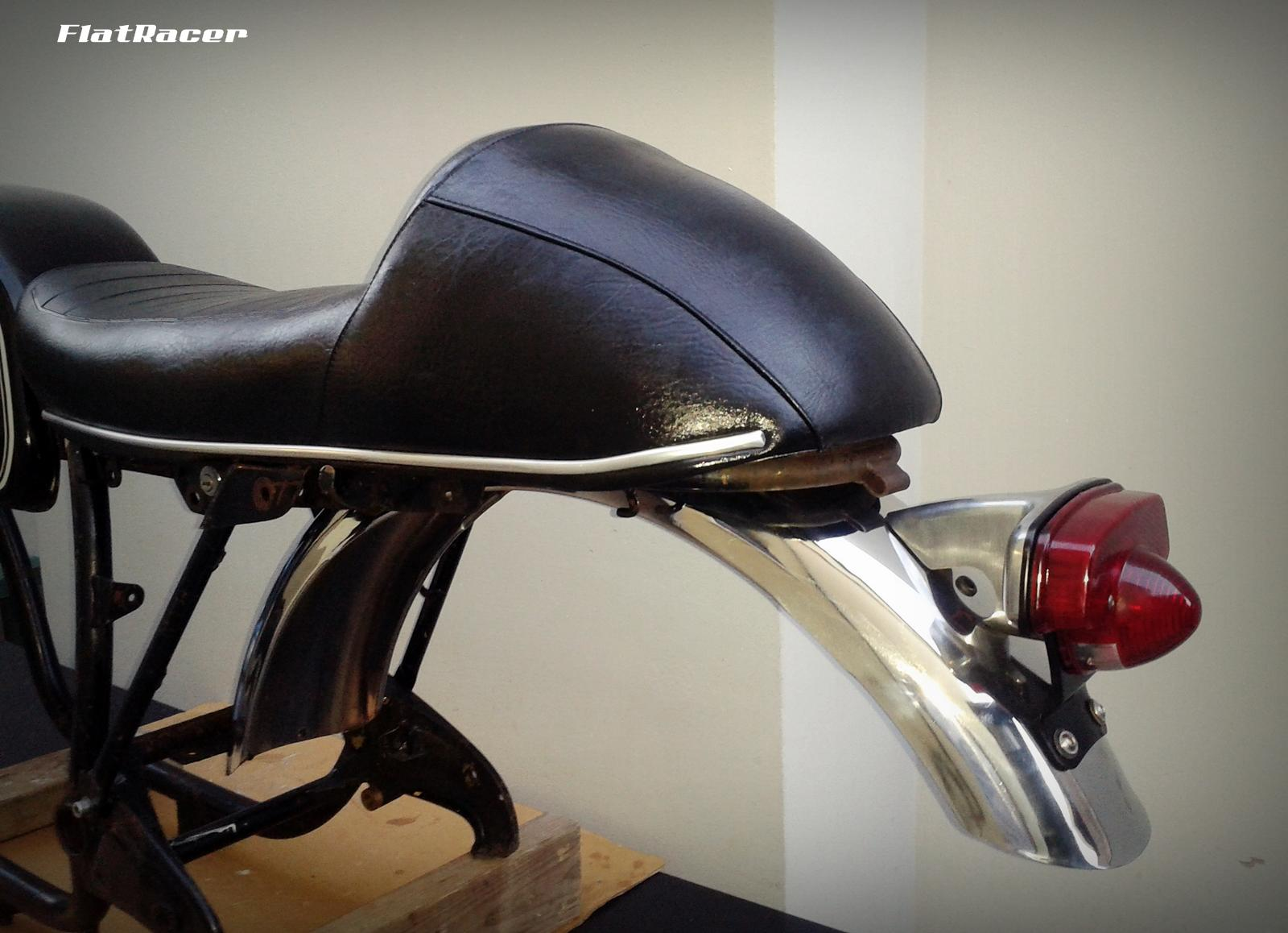 FlatRacer BMW R2v Airhead Boxer /5 LWB & /6 Series (73-76) Cafe Racer Sports seat