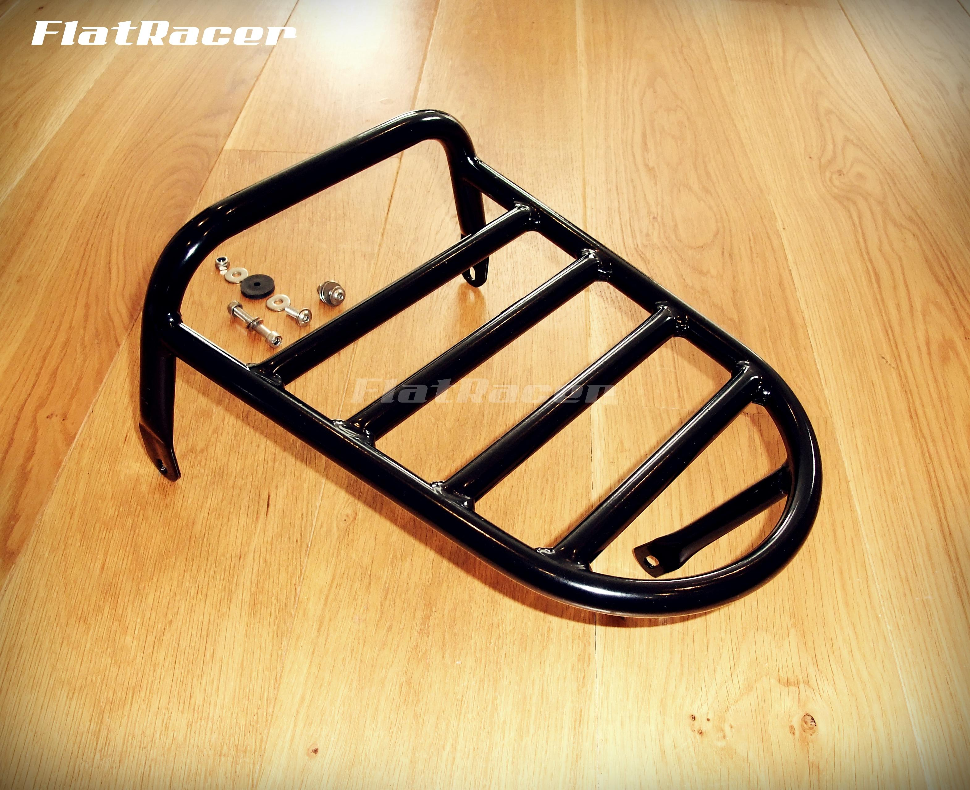 FlatRacer BMW R2v TIC rear luggage rack - black