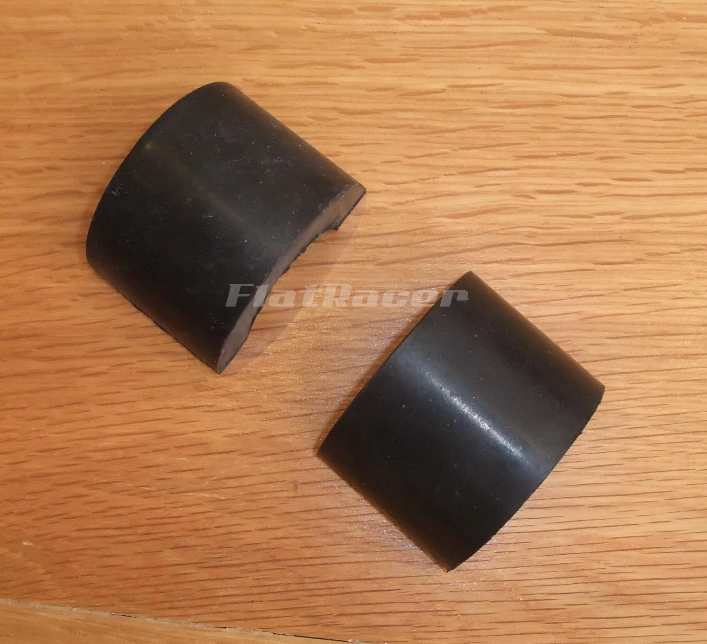 Fuel tank rubber mounts (pair) - Half Moon