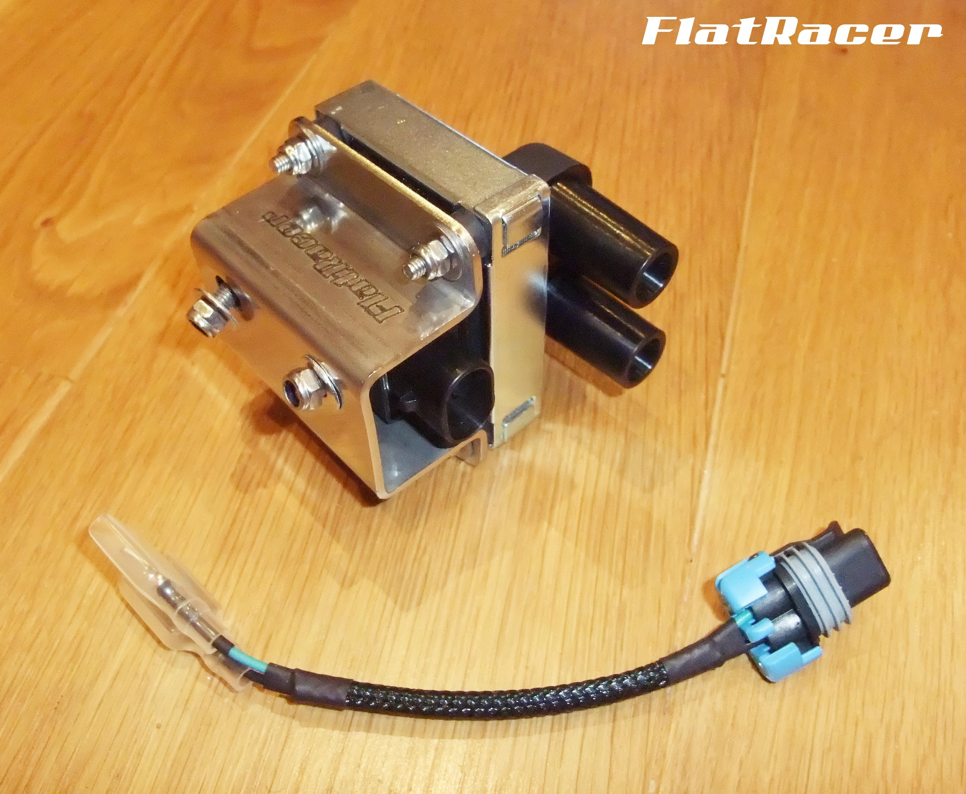 FlatRacer BMW R2v Airhead Boxer R45/65 (81-84) and Monolever Series including the R65, R80 and R100 models (85-96) replacement ignition coil kit