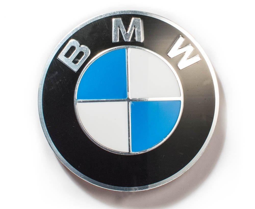 BMW genuine alloy 70mm tank and seat badge
