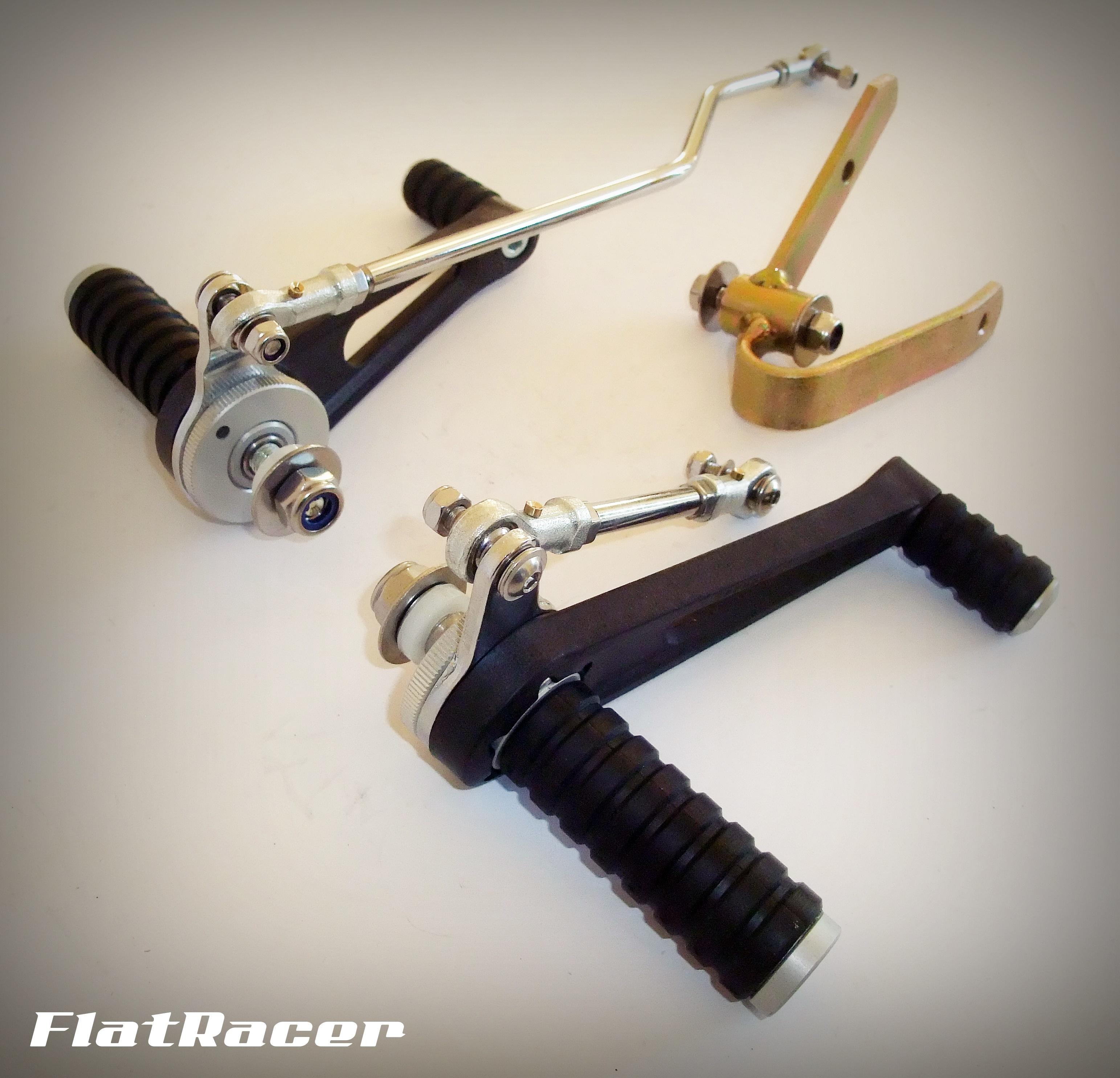 FlatRacer BMW R2v Airhead Boxer R45 & R65 (78-84) rear sets