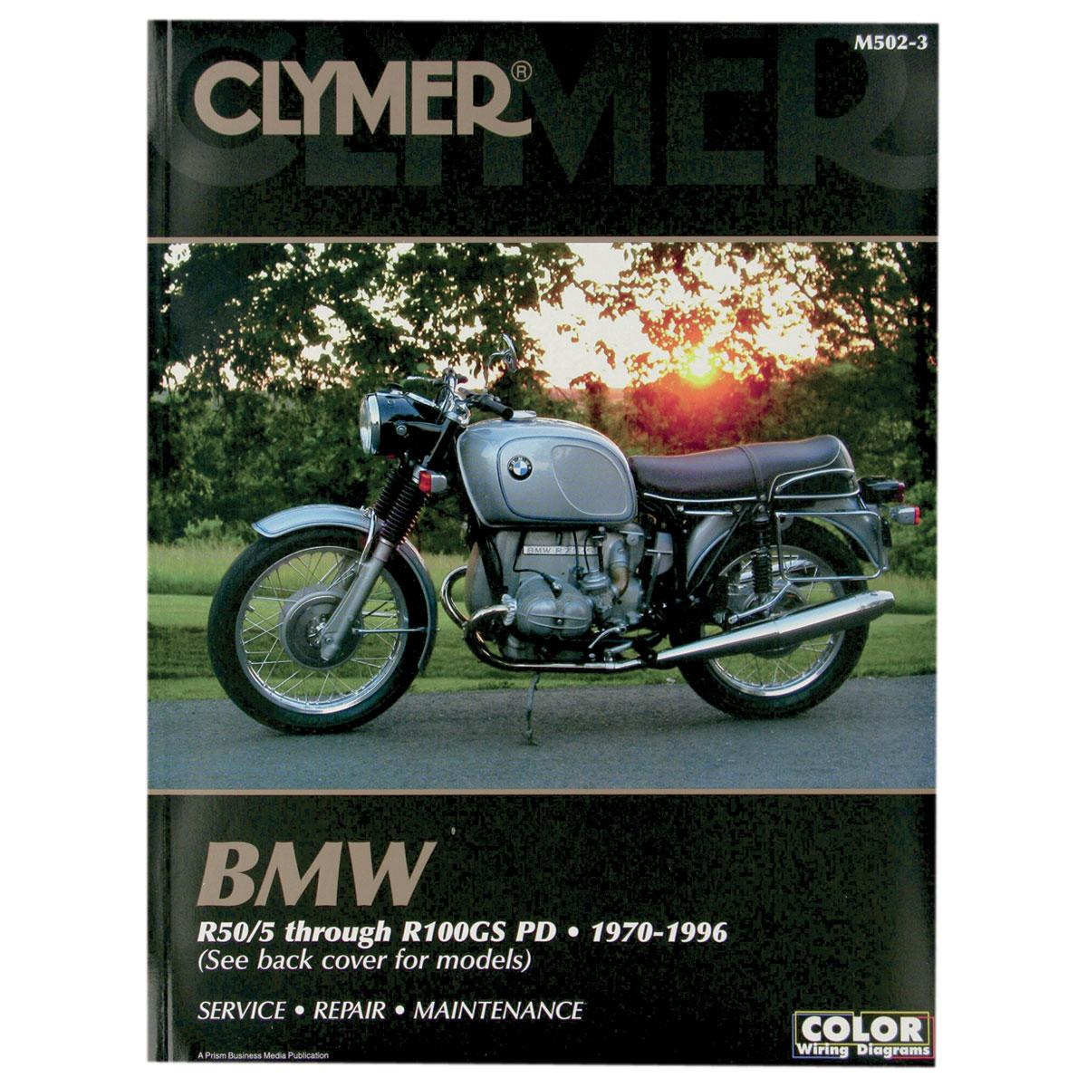 BMW R2v Airhead Boxer Clymer workshop manual