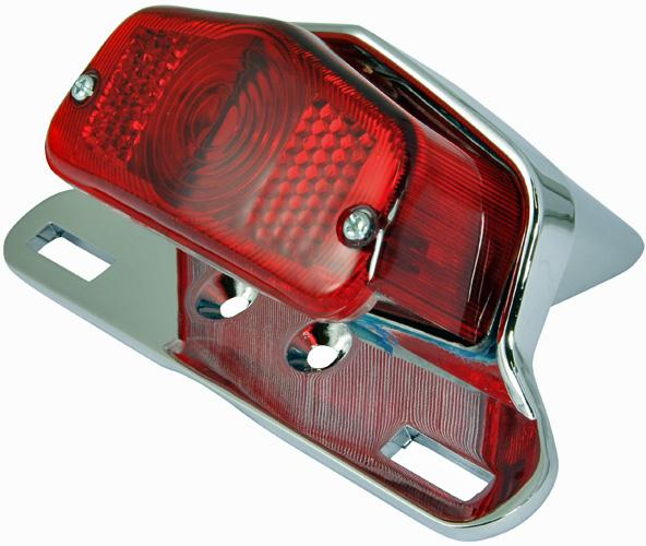 Lucas L564 replica tail light complete assembly