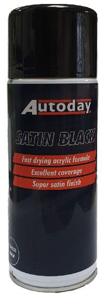 Single Satin Black Aerosol
