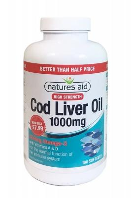 High Strength Cod Liver Oil, Cod Liver Oil, Better Than Half Price Cod Liver Oil