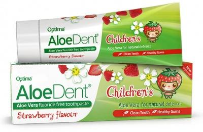 Children Tooth Paste, Strawberry Flavour Childrens Tooth Paste, Aloe Dent Strawberry Flavour Childrens Toothpaste