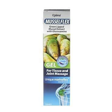 Musselflex, Musselflex Gel, Green Lipped Mussel Extract with Glucosamine.