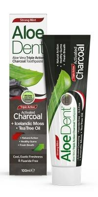 Toothpaste, Aloe Dent Toothpaste, Charcoal Toothpaste