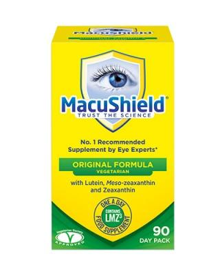 Macushield Vegetarian 90 Day Pack, Vegetarian Eye Care