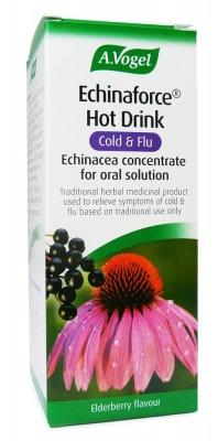 Hot Drink, Cold and Flu, Echinaforce Hot Drink