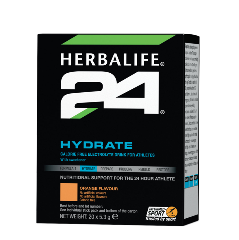 Herbalife Hydrate Orange