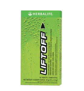 Lift Off Effervescent Energy Drink Lemon lime