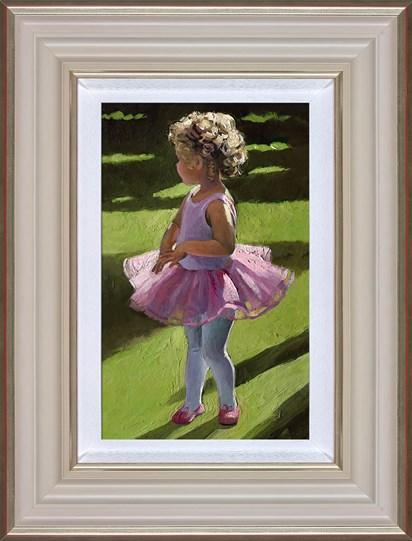 Pretty in Pink by Sherree Valentine Daines - canvas art print ZDAI276