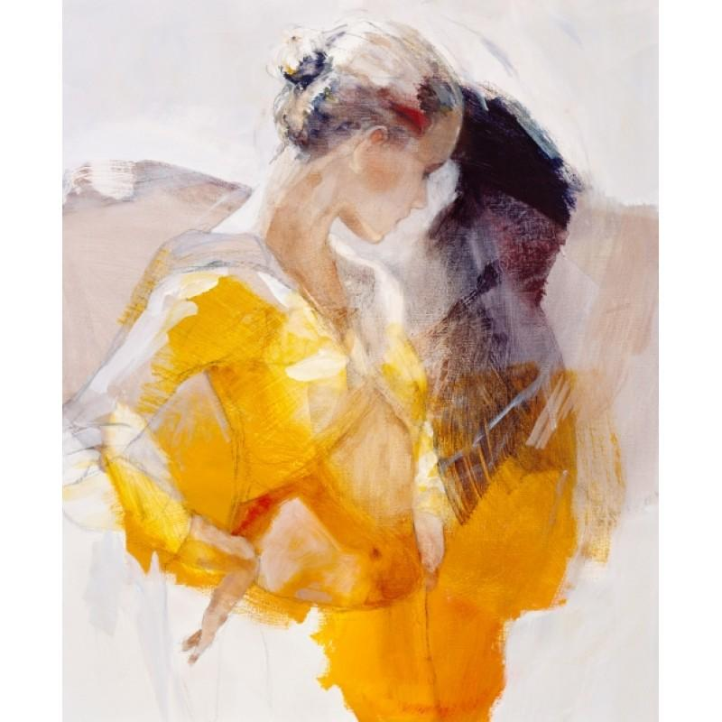 Affected by You by Christine Comyn - canvas art print CCE020C