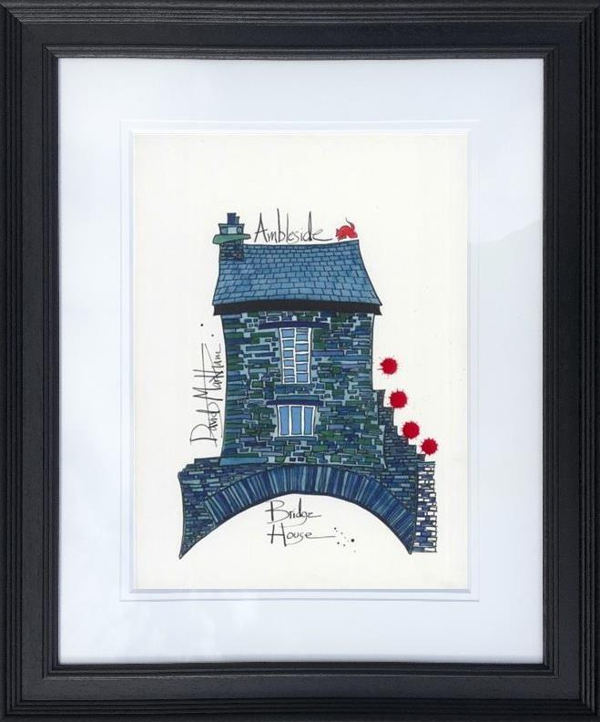 Bridge House Ambleside by Dave Markham - Limited Edition print DME007