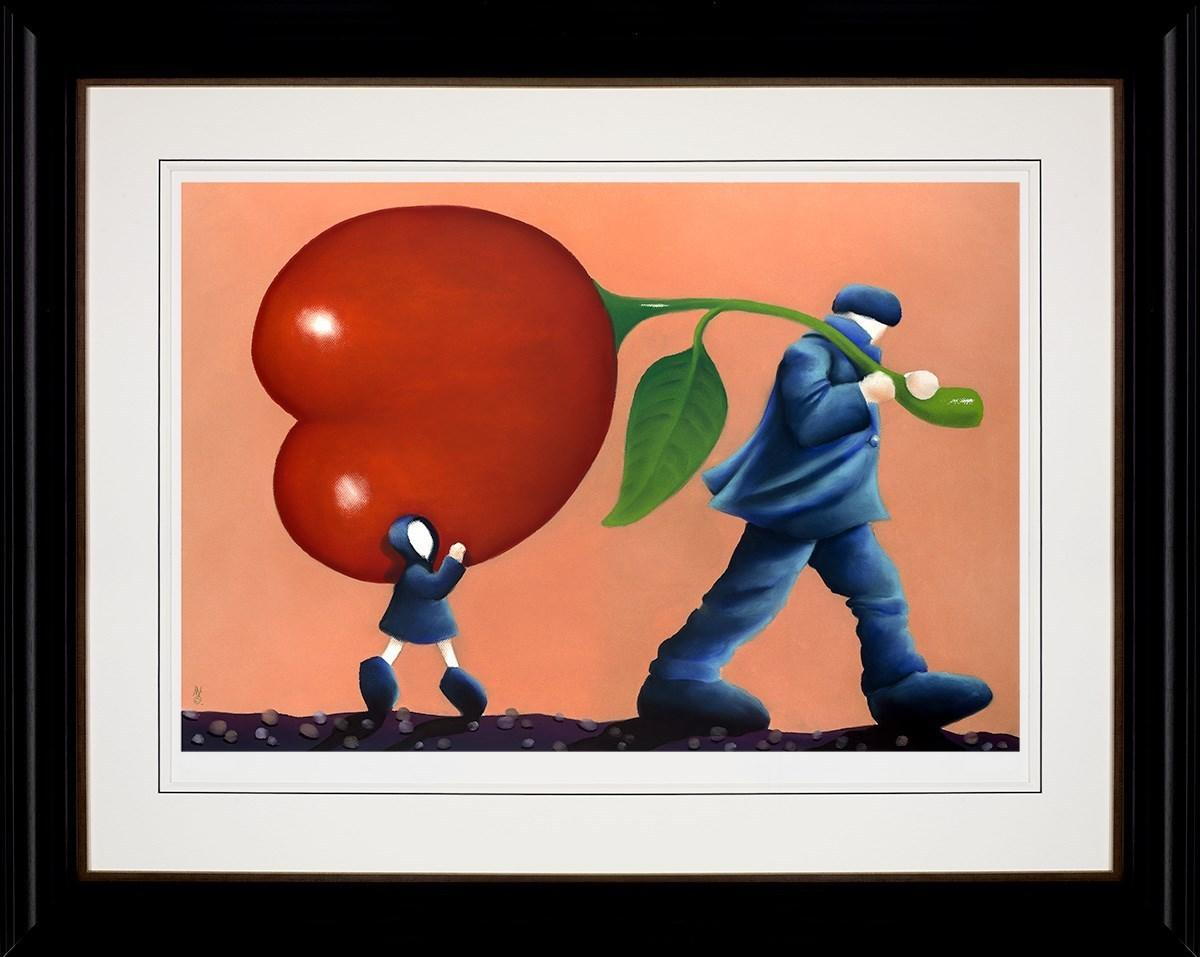 Helping Dad by Mackenzie Thorpe - Limited Edition art print LTHP030