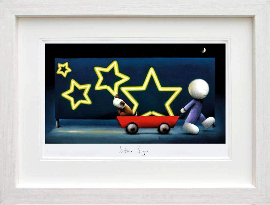 Star Sign by Doug Hyde - Limited Edition art print ZHYD605